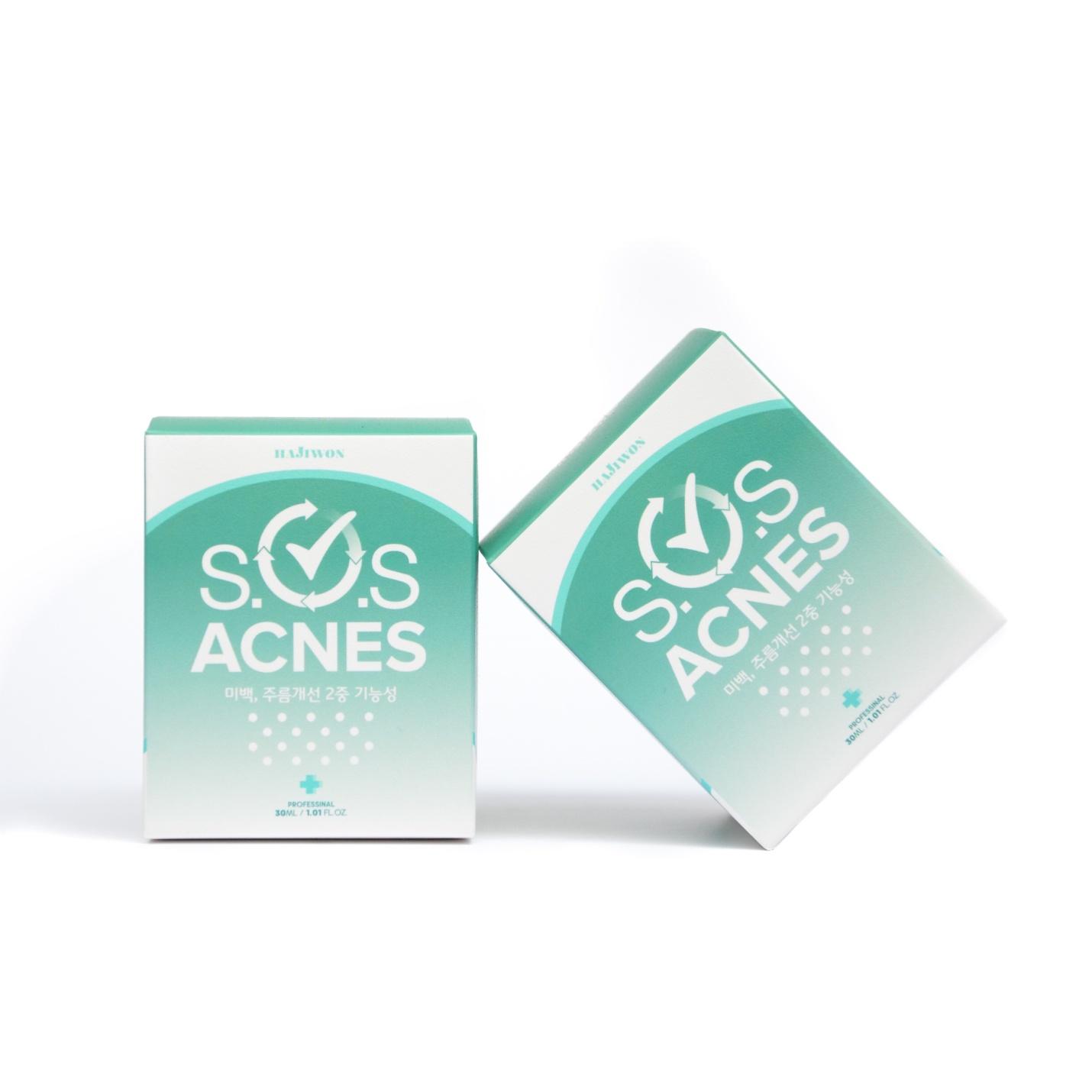 kem trị mụn S.O.S ACNES S.O.S Acnes sản phẩm trị mụn hàng đầu